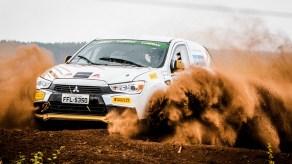 Carros de competição são fabricados pela Mitsubishi Motors. Foto: Adriano Carrapato / Mitsubishi