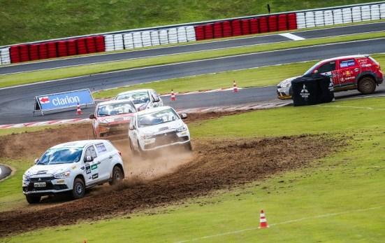 Mitsubishi Cup foi a primeira a trazer o rallycross ao Brasil. Foto: Marcio Machado / Mitsubishi