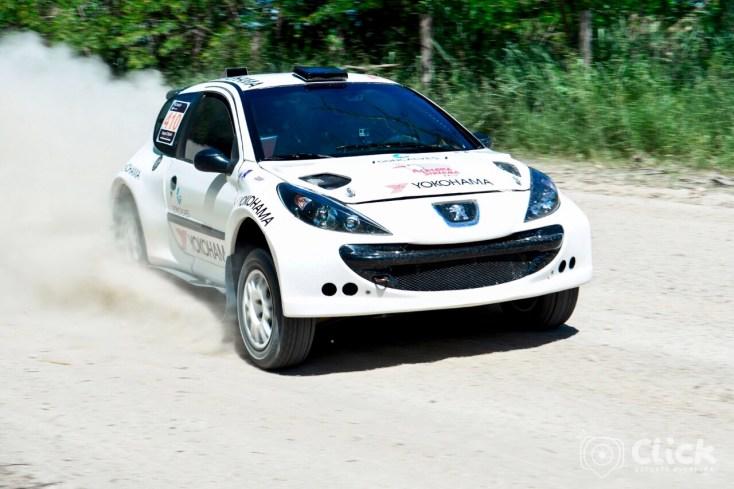 Facco/Herrero competiram a bordo do Peugeot 207 XRC. Foto: Glauco Santos