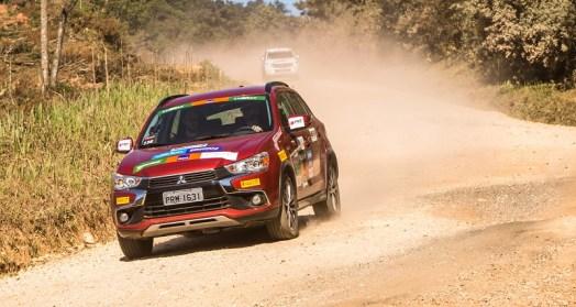 Modelos 4x4 da Mitsubishi podem participar da prova. Foto: Ricardo Leizer / Mitsubishi