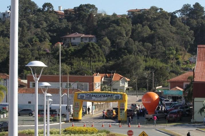 O segundo dia do Transcatarina chegou em Rio Negrinho, SC, nesta sexta-feira, 13 (Marcus Cicarello/ DFOTOS)
