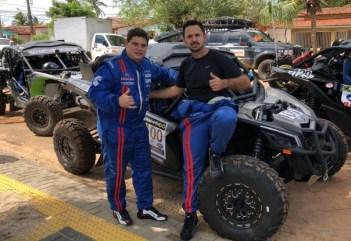 Montani e Dall Agnol: pela primeira vez no grid do Rally dos Sertões (DFotos)