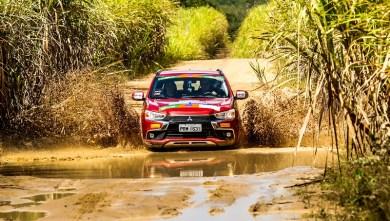 Muita lama e diversão pelo caminho (Foto: Ricardo Leizer / Mitsubishi)