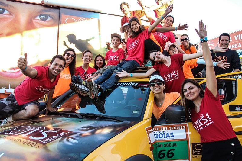 Em parceria com S.A.S. Brasil, ações sociais do Rally dos Sertões vão impactar mais de 5.000 pessoas