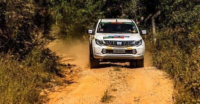 Ralis Mitsubishi fazem etapa em Goiânia neste sábado, dia 18/8 (Foto: Ricardo Leizer/Mitsubishi)