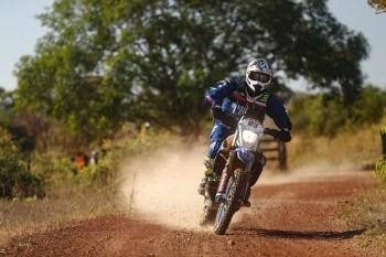 Ricardo Martins é o terceiro na classificação geral das motos no Sertões (Marcelo Machado de Melo/Fotop/Vipcomm)