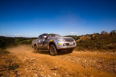 Eventos off-road são oportunidades para colocar os veículos 4x4 à prova (Foto: Ricardo Leizer/Mitsubishi)