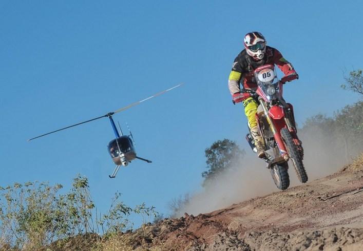 Tunico Maciel venceu terceira especial neste Sertões, e lidera nas motos (Doni Castilho/Fotop/Vipcomm)