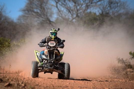 Wescley Dutra é o novo líder dos quadriciclos após cinco especiais (Gustavo Epifânio/Fotop/Vipcomm)