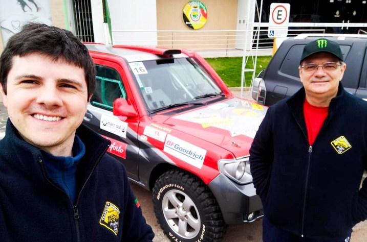 Eduardo Ruschel e Carlos Ruschel (Crédito Divulgação)