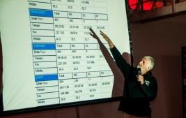 Briefing na véspera ensina tudo sobre a prova. Foto: Marcio Machado / Mitsubishi
