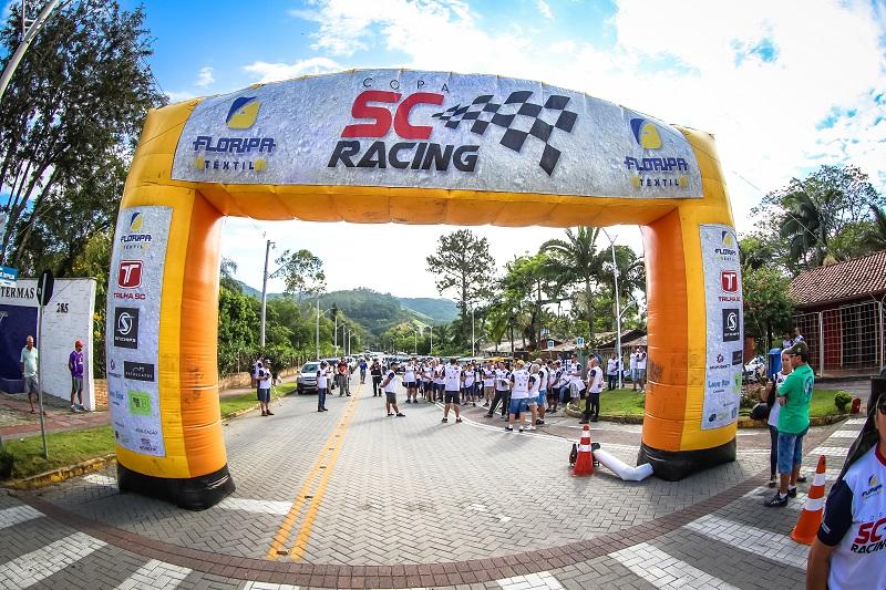 Curitibanos recebe neste sábado a terceira etapa da Copa SC Racing