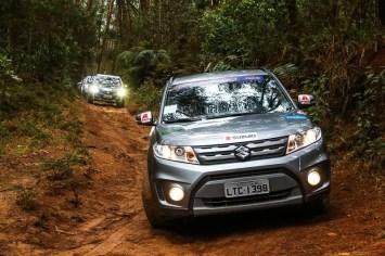 Podem participar os veículos Suzuki 4x4 (Foto: Cadu Rolim/Suzuki)