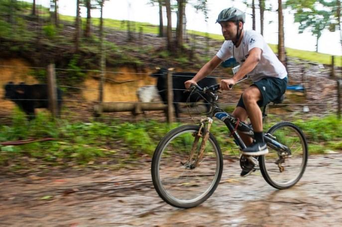 Três trechos de bike (Foto: David Santos Jr. / Mitsubishi)