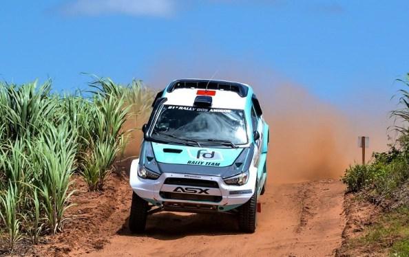 Dupla Fontoura/Minae andou forte no Rally dos Amigos (Claudio Rieser /PhotoEsporte)