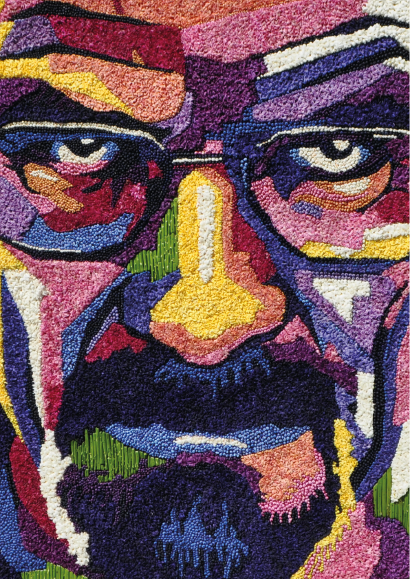 Breaking Bad Flower Mosaic Lisse