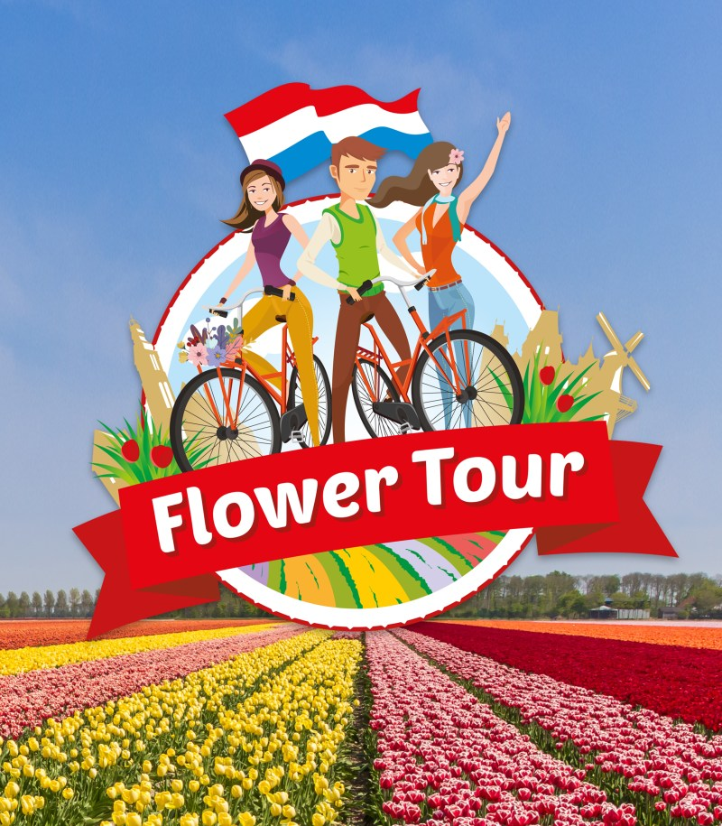 Flower Tour Cycling Amsterdam
