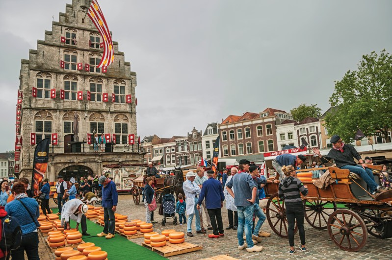 Gouda cheese market