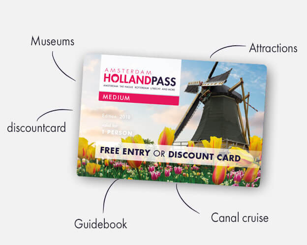 Amsterdam Holland Discount Pass