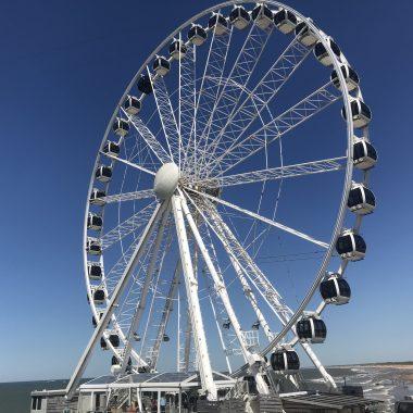 Skyview Ferris Wheel Scheveningen The Hague Beach