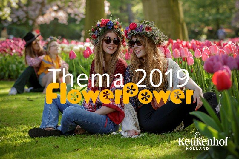 Keukenhof theme 2019 Flower Power