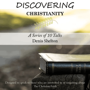 Book Cover: Discovering Christianity
