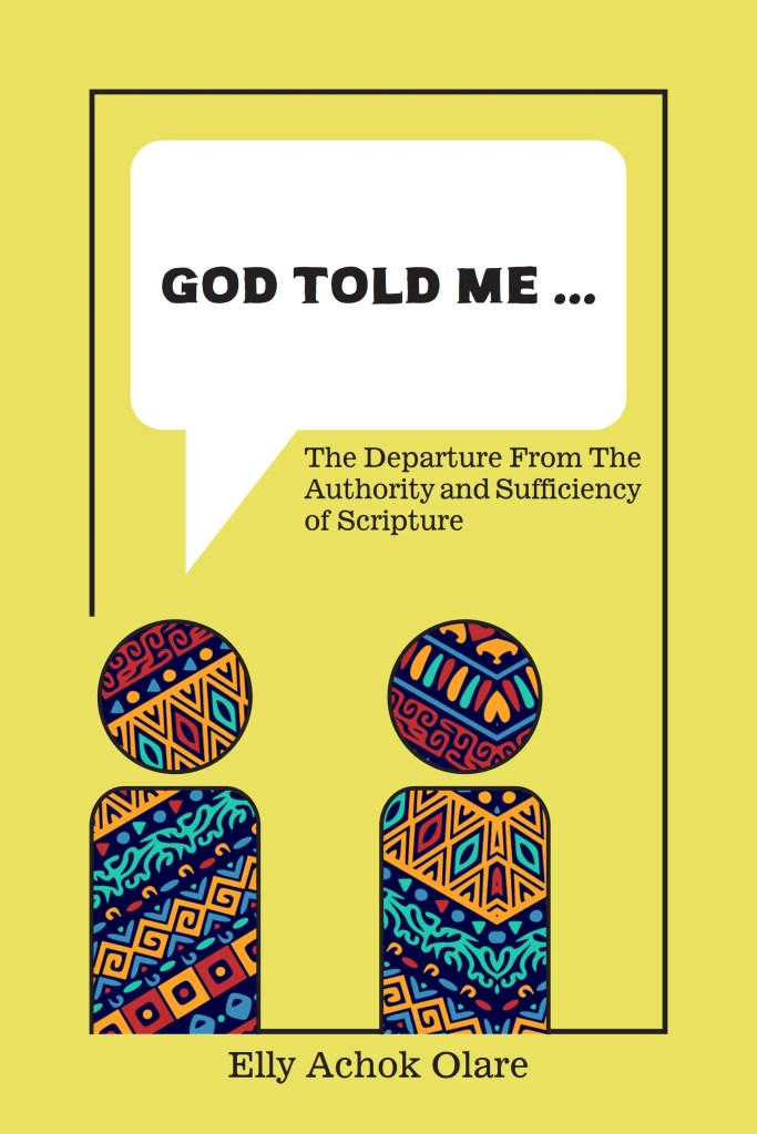 "Book Cover: ""God Told Me..."""