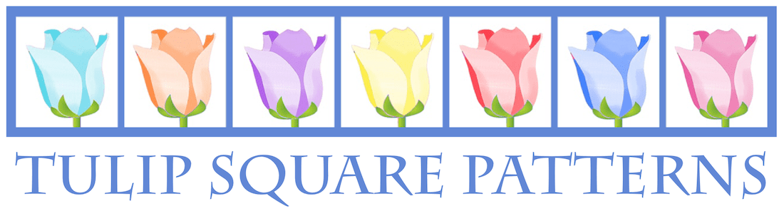 Tulip Square ~ Patterns for useful quilted goods