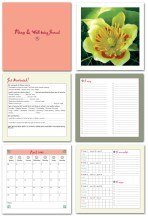 Fitness/Wellbeing Journal Design (50-page Book Layout)