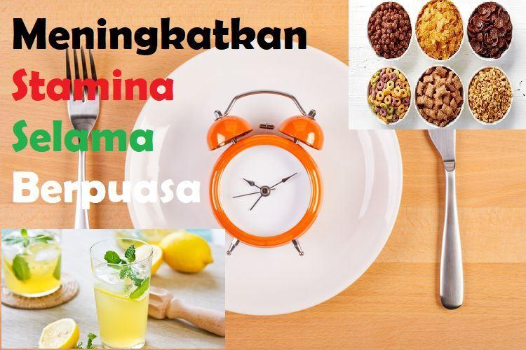 Makanan dan Minuman untuk Meningkatkan Stamina Selama Berpuasa
