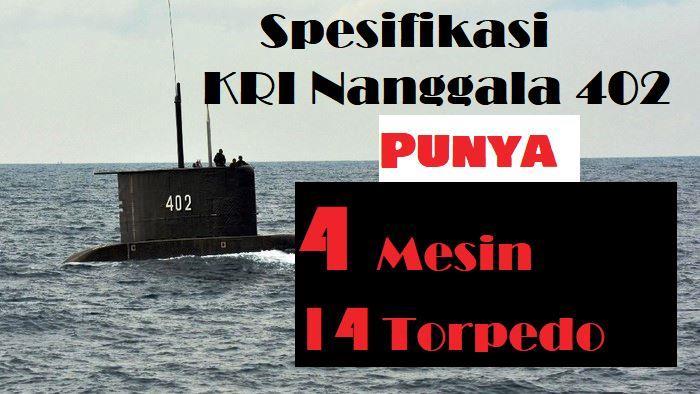 Kapal Selam Indonesia KRI Nanggala 402 Hilang