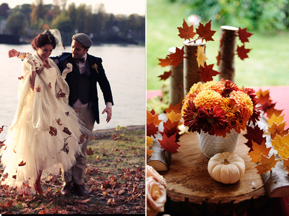 How Are You Going To Plan Your Fall Wedding Theme