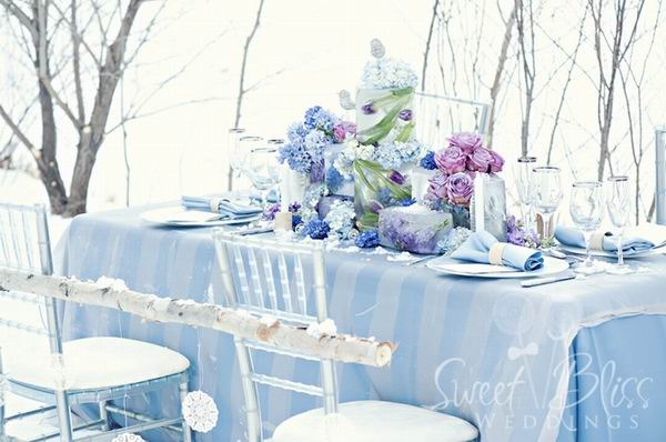 Hot Winter Wedding Color Combos
