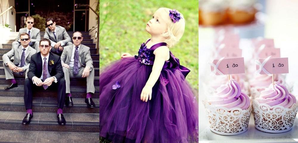 36 Glamorous Purple Wedding Ideas