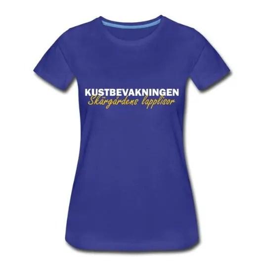 Kustbevakningen - Skärgårdens Lapplisor - Premium T-shirt dam