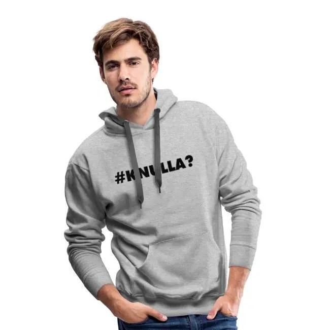 Knulla - Premiumluvtröja hoodie herr
