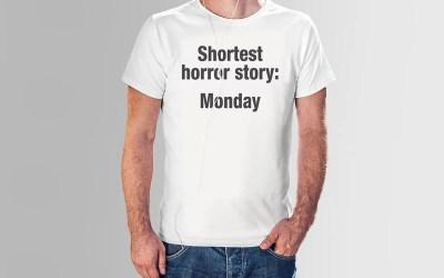 Shortest horror story: Monday – En skrämmande tröja!