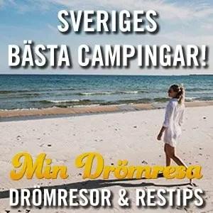 Sveriges bästa campingar - Min Drömresa