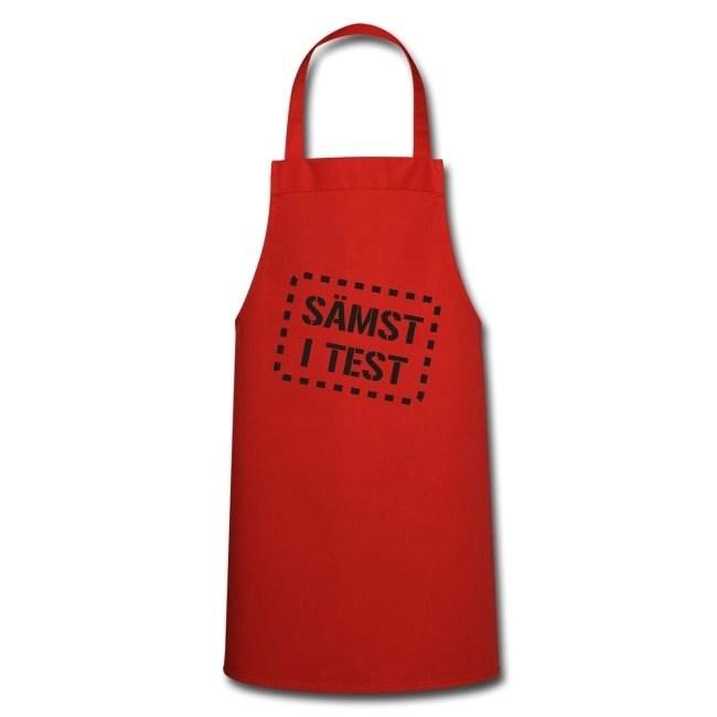 Sämst i test - Förkläde