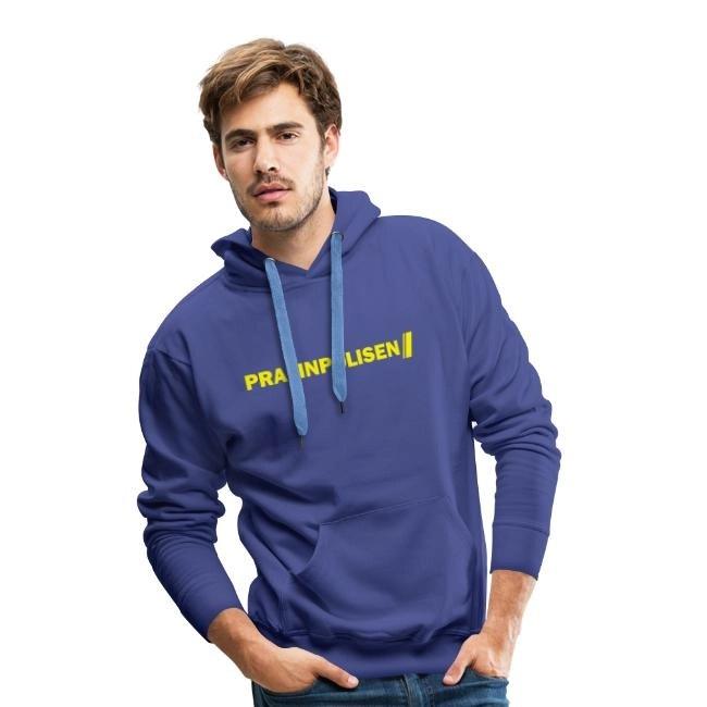 Pralinpolisen - Premiumluvtröja hoodie herr