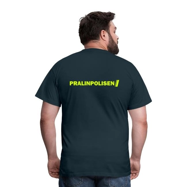 Pralinpolisen - T-shirt herr