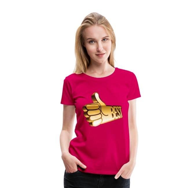 Best - Premium T-shirt dam