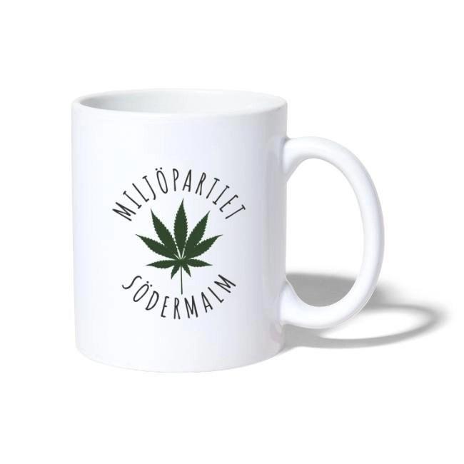 Miljöpartiet Södermalm Cannabis - Mugg