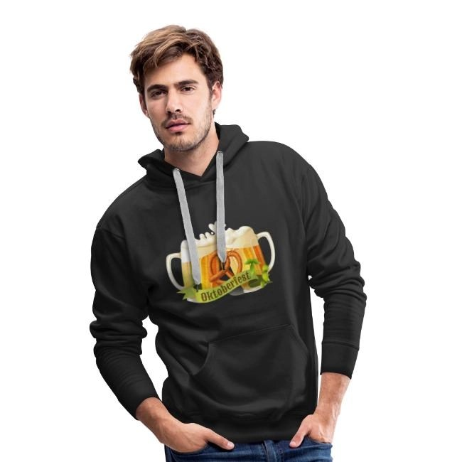 Oktoberfest - Premiumluvtröja Hoodie herr