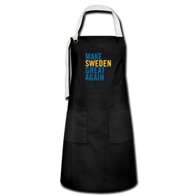 Make Sweden Great Again - Kontrastförkläde