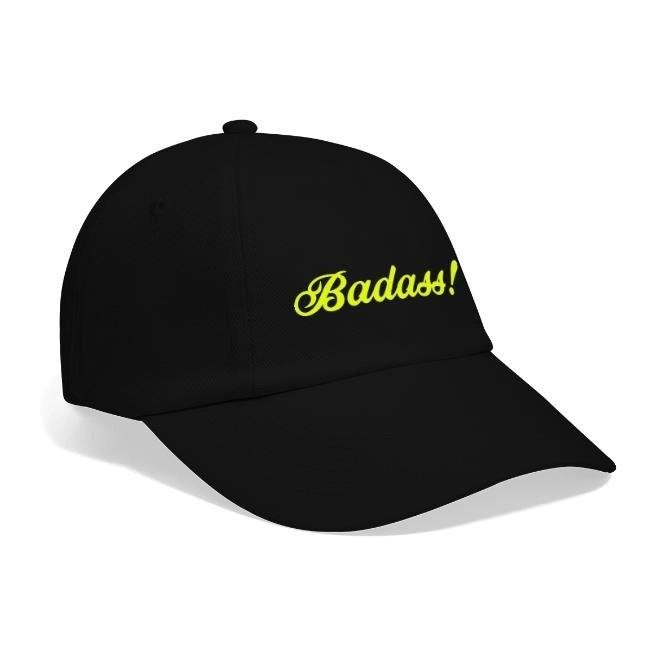 Badass! - Basebollkeps