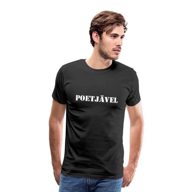 Poetjävel - Premium T-shirt herr