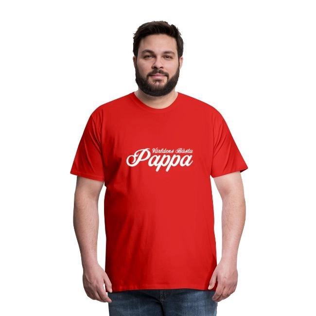 Världens Bästa Pappa - den perfekta fars dagspresenten - Premium T-shirt herr