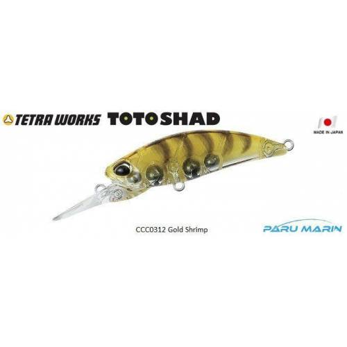 Tetra Works Toto Shad 48S CCC0312 / Gold Shrimp