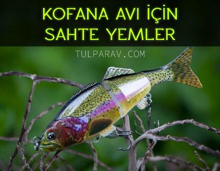 Lüfer Balığı İçin Sahte Yemler